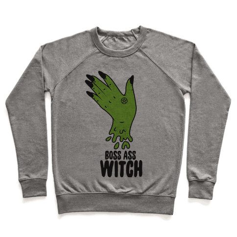 Boss Ass Witch Pullover