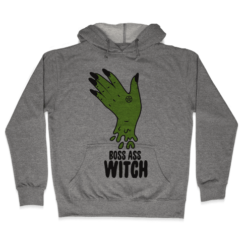 Boss Ass Witch Hooded Sweatshirt