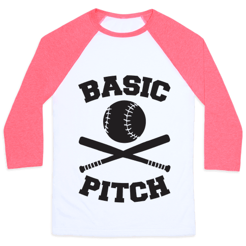 Basic Pitch Baseball Tee