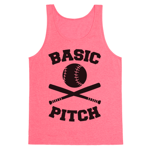 Basic Pitch Tank Top