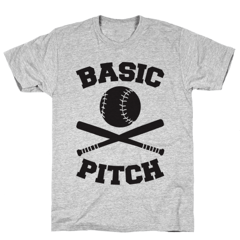 Basic Pitch Mens T-Shirt