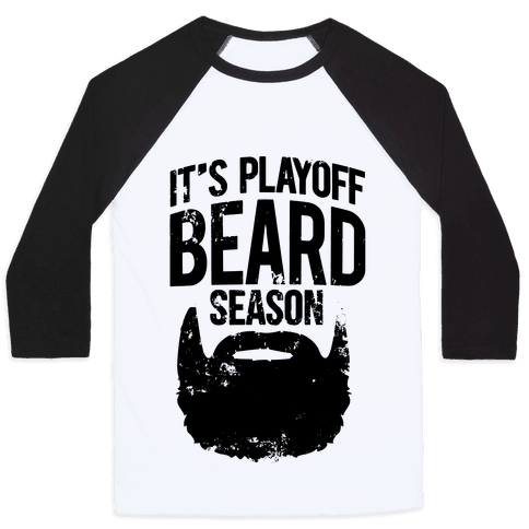 It's Playoff Beard Season Baseball Tee