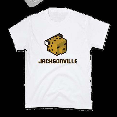 Jacksonville Blocks Kids T-Shirt