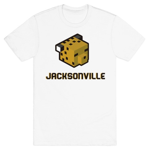 Jacksonville Blocks Mens T-Shirt