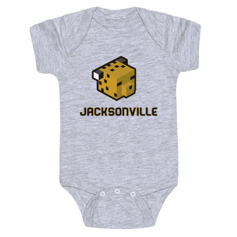 Jacksonville Blocks Baby Onesy