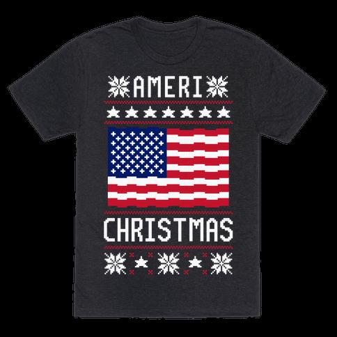 Ameri' Christmas Ugly Sweater