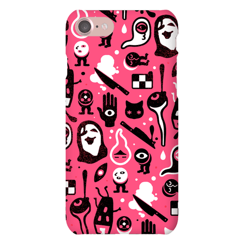 Yume Nikki Pattern Phone Case