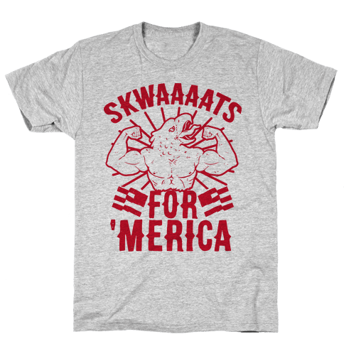 Skwaaaats For 'Merica Mens T-Shirt