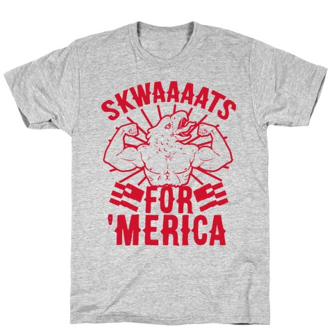Skwaaaats For 'Merica T-Shirt