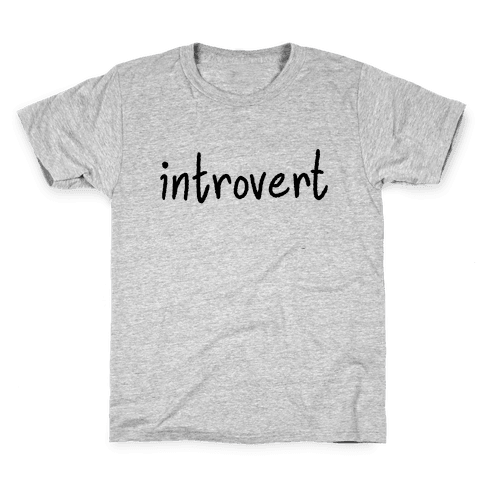 Introvert Kids T-Shirt