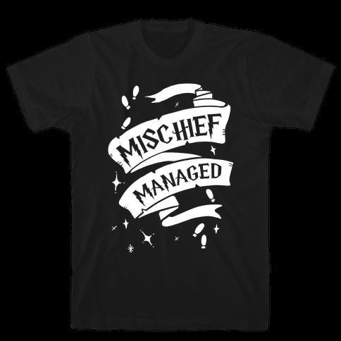 Mischief Managed Mens T-Shirt