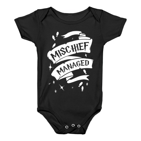 b4ed2481a HogwartsWizardsHarry Potter T ShirtsMischief ManagedNerdsLiteratureBooksMarauders  MapMischief Managed T Shirts · Mischief Managed Baby Onesy