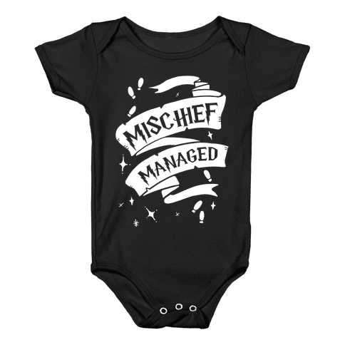 Mischief Managed Baby Onesy
