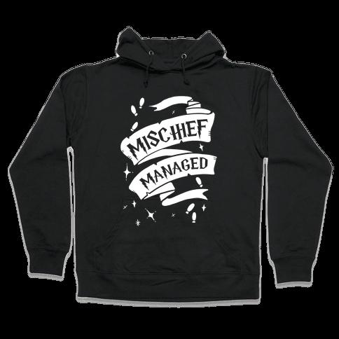 Mischief Managed Hooded Sweatshirt