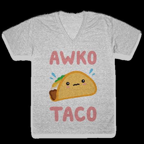 Awko Taco V-Neck Tee Shirt