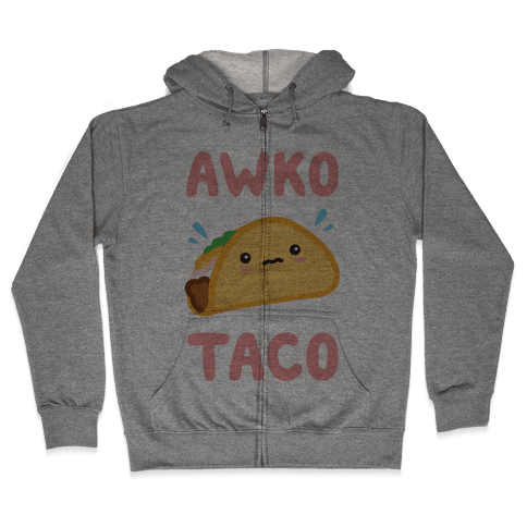 Awko Taco Zip Hoodie
