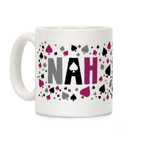 NAH- Asexual Pride Coffee Mug