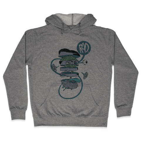 Rad Hooded Sweatshirt