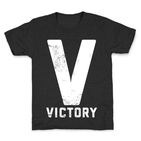 V For Victory Kids T-Shirt