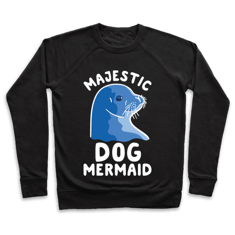 Majestic Dog Mermaid Pullover