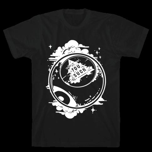 You Suck Magic 8-Ball Fortune Mens T-Shirt