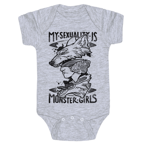 My Sexuality Is Monster Girls Baby Onesy