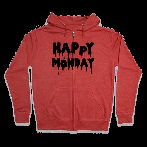 Happy Monday Zip Hoodie