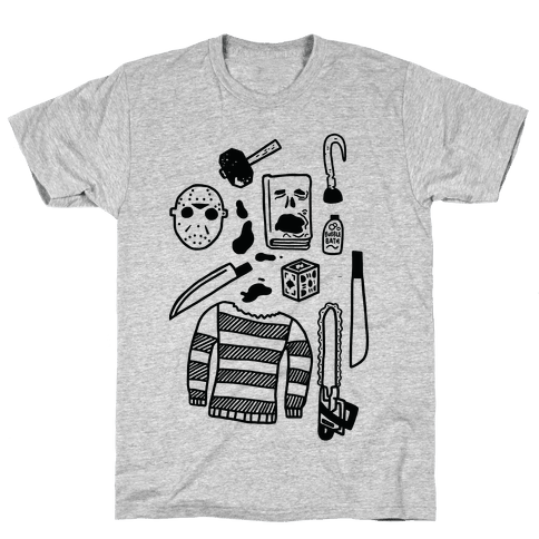 Slasher Slumber Party Kit Mens T-Shirt