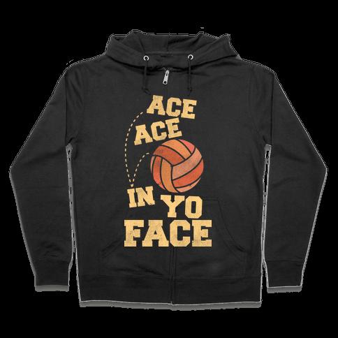 Ace Ace Zip Hoodie