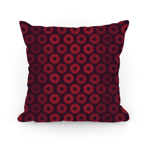 Vintage Flower Pattern Pillow