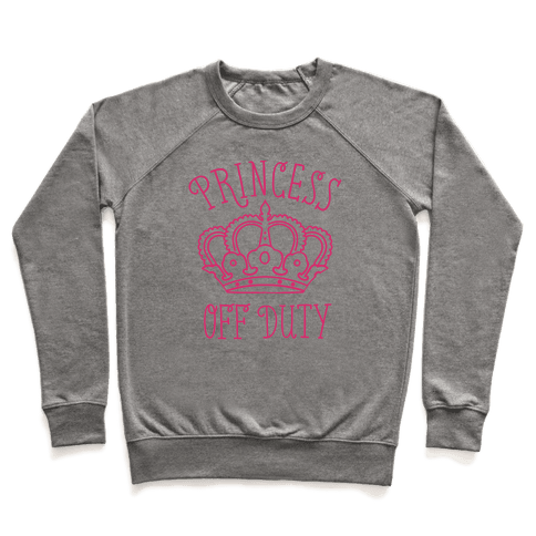 Princess Off Duty Pullover
