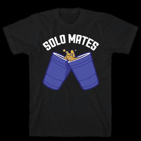 Solo Mates Dark (Blue) Mens T-Shirt
