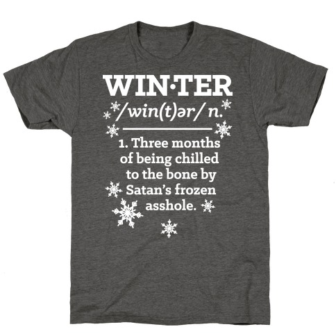 Winter Definition T-Shirt