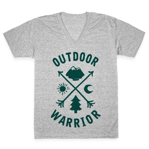 Outdoor Warrior V-Neck Tee Shirt