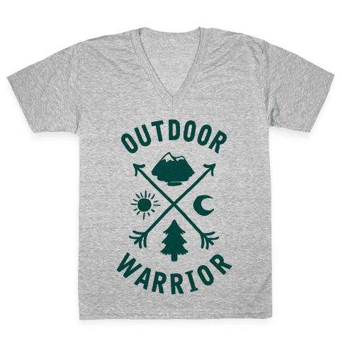 Outdoor Warrior V-Neck Tee Shirt