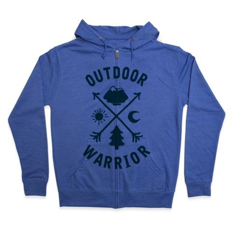 Outdoor Warrior Zip Hoodie