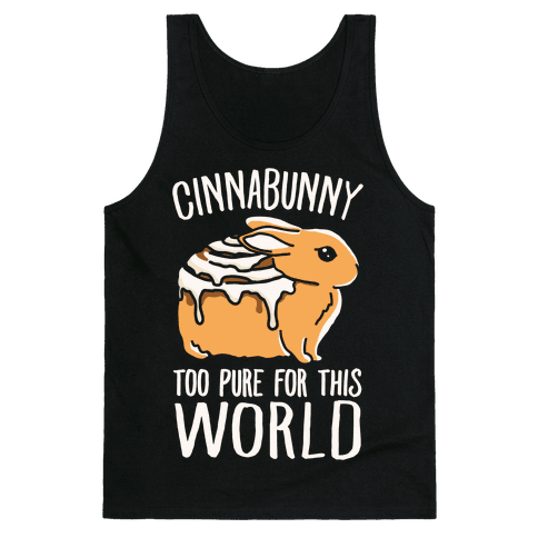 Cinnabunny Too Pure For This World Tank Top