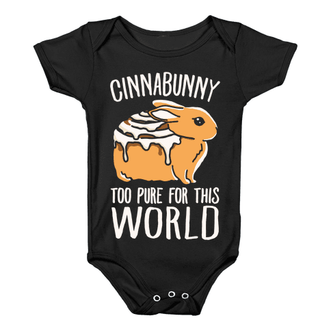 Cinnabunny Too Pure For This World Baby Onesy