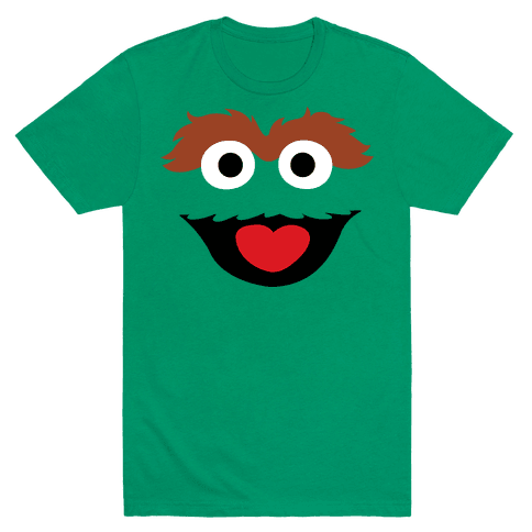 The Garbage Puppet Mens T-Shirt