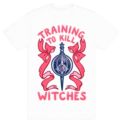 Training To Kill Witches Mens T-Shirt