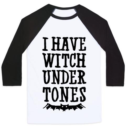 Witch Undertones Baseball Tee | LookHUMAN