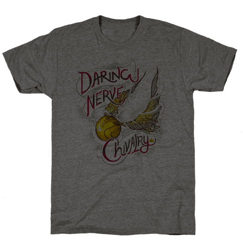 Hogwarts Golden Snitch Mens T-Shirt
