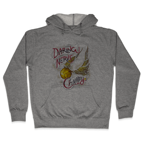 Hogwarts Golden Snitch Hooded Sweatshirt