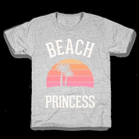 Beach Princess Kids T-Shirt