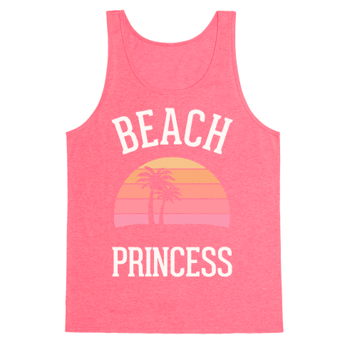 Beach Princess Tank Top