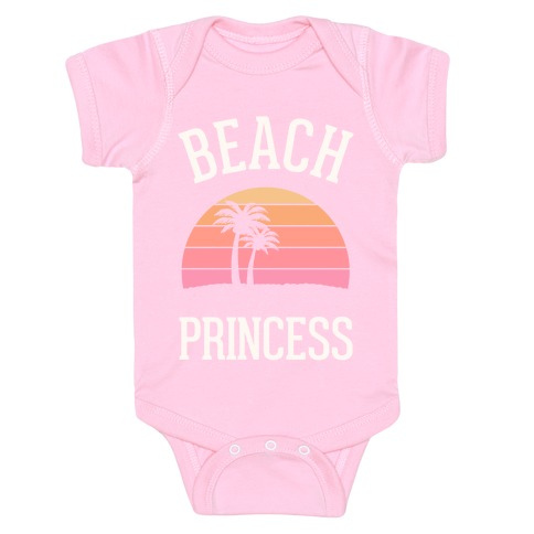 Beach Princess Baby Onesy