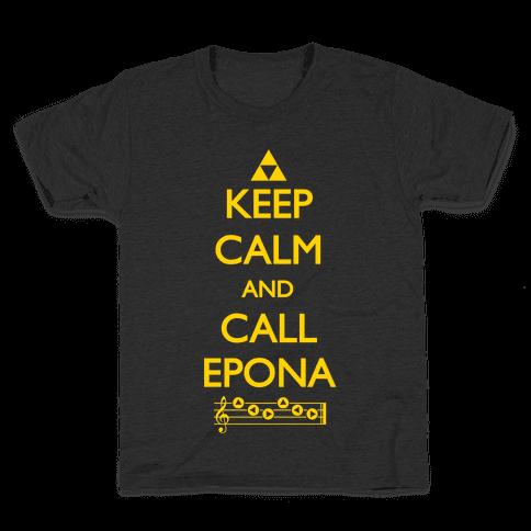 Keep Calm And Call Epona Kids T-Shirt