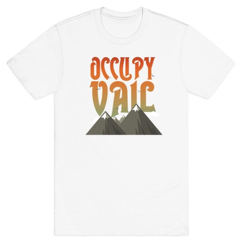Occupy Vail Dusk Mens T-Shirt