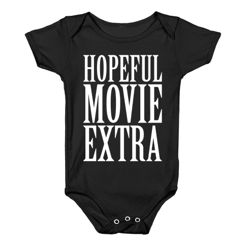 Hopeful Movie Extra Baby Onesy