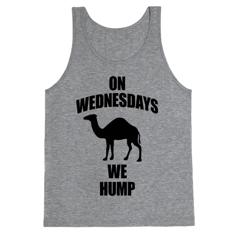 On Wednesdays We Hump Tank Top